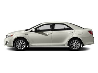 Creme Brulee Mica 2014 Toyota Camry Hybrid Pictures Camry Hybrid Sedan 4D LE I4 Hybrid photos side view