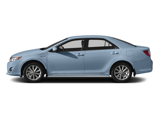 Clearwater Blue Metallic 2014 Toyota Camry Hybrid Pictures Camry Hybrid Sedan 4D LE I4 Hybrid photos side view