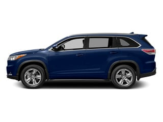 Nautical Blue Metallic 2014 Toyota Highlander Pictures Highlander Utility 4D Limited 4WD V6 photos side view