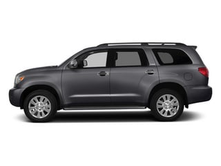 Magnetic Gray Metallic 2014 Toyota Sequoia Pictures Sequoia Utility 4D Platinum 4WD V8 photos side view
