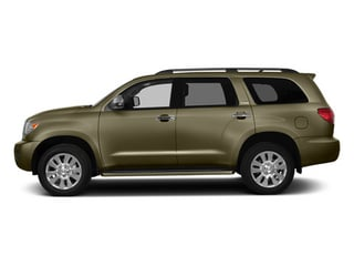 Pyrite Mica 2014 Toyota Sequoia Pictures Sequoia Utility 4D Platinum 4WD V8 photos side view