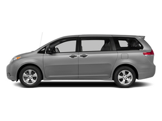 Silver Sky Metallic 2014 Toyota Sienna Pictures Sienna Wagon 5D LE AWD V6 photos side view