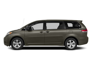 Predawn Gray Mica 2014 Toyota Sienna Pictures Sienna Wagon 5D LE AWD V6 photos side view