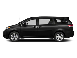 Black 2014 Toyota Sienna Pictures Sienna Wagon 5D LE AWD V6 photos side view