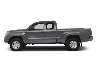 Magnetic Gray Metallic 2014 Toyota Tacoma Pictures Tacoma Base Access Cab 2WD I4 photos side view