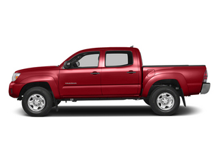 Barcelona Red Metallic 2014 Toyota Tacoma Pictures Tacoma Base 4WD V6 photos side view