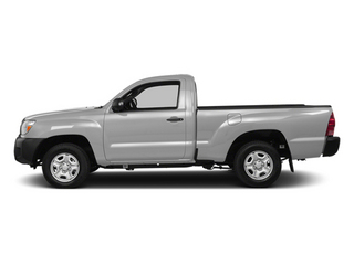 Silver Sky Metallic 2014 Toyota Tacoma Pictures Tacoma Base 4WD I4 photos side view