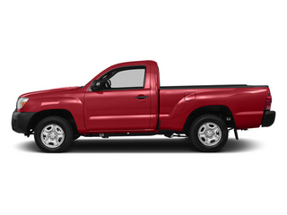 Barcelona Red Metallic 2014 Toyota Tacoma Pictures Tacoma Base 4WD I4 photos side view