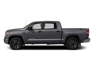 Magnetic Gray Metallic 2014 Toyota Tundra 4WD Truck Pictures Tundra 4WD Truck SR5 4WD 5.7L V8 photos side view