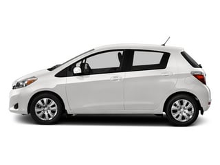Super White 2014 Toyota Yaris Pictures Yaris Hatchback 5D SE I4 photos side view
