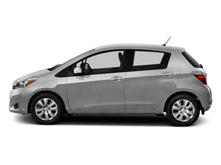 Classic Silver Metallic 2014 Toyota Yaris Pictures Yaris Hatchback 5D SE I4 photos side view