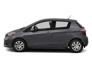 Magnetic Gray Metallic 2014 Toyota Yaris Pictures Yaris Hatchback 5D SE I4 photos side view