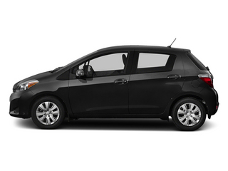 Black Sand Pearl 2014 Toyota Yaris Pictures Yaris Hatchback 5D SE I4 photos side view