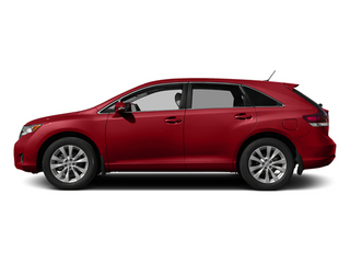 Barcelona Red Metallic 2014 Toyota Venza Pictures Venza Wagon 4D LE 2WD I4 photos side view