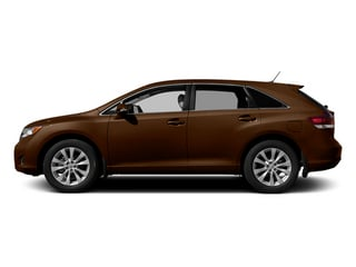 Sunset Bronze Mica 2014 Toyota Venza Pictures Venza Wagon 4D LE 2WD I4 photos side view