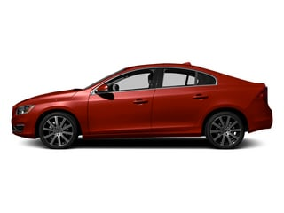 Flamenco Red Metallic 2014 Volvo S60 Pictures S60 Sedan 4D T6 AWD I6 Turbo photos side view