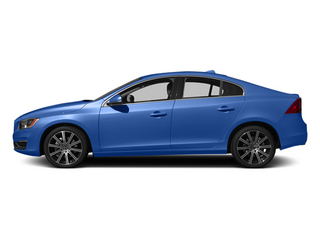 Power Blue Metallic 2014 Volvo S60 Pictures S60 Sedan 4D T6 AWD I6 Turbo photos side view