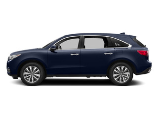 Fathom Blue Pearl 2015 Acura MDX Pictures MDX Utility 4D Technology DVD AWD V6 photos side view