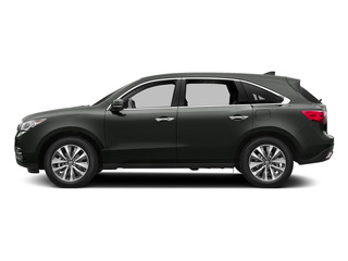 Graphite Luster Metallic 2015 Acura MDX Pictures MDX Utility 4D Technology DVD AWD V6 photos side view