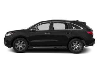 Crystal Black Pearl 2015 Acura MDX Pictures MDX Utility 4D Advance DVD AWD V6 photos side view