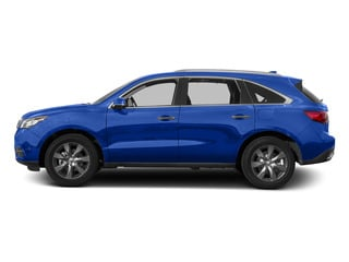 Fathom Blue Pearl 2015 Acura MDX Pictures MDX Utility 4D Advance DVD AWD V6 photos side view