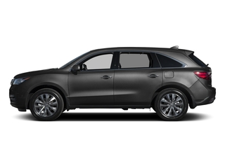 Graphite Luster Metallic 2015 Acura MDX Pictures MDX Utility 4D Technology DVD 2WD V6 photos side view
