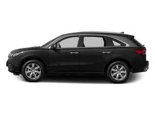 Forest Mist Metallic 2015 Acura MDX Pictures MDX Utility 4D Advance DVD 2WD V6 photos side view