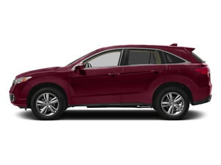 Basque Red Pearl II 2015 Acura RDX Pictures RDX Utility 4D AWD V6 photos side view