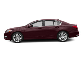 Pomegranate Pearl 2015 Acura RLX Pictures RLX Sedan 4D Technology V6 photos side view