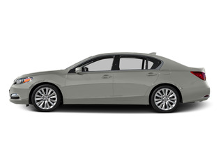 Silver Moon Metallic 2015 Acura RLX Pictures RLX Sedan 4D Advance V6 photos side view