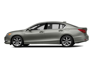 Silver Moon Metallic 2015 Acura RLX Pictures RLX Sedan 4D V6 photos side view