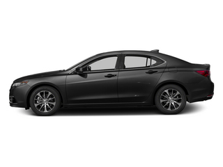 Graphite Luster Metallic 2015 Acura TLX Pictures TLX Sedan 4D I4 photos side view