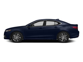 Fathom Blue Pearl 2015 Acura TLX Pictures TLX Sedan 4D Technology I4 photos side view