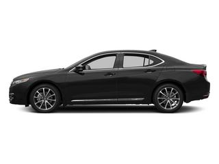 Crystal Black Pearl 2015 Acura TLX Pictures TLX Sedan 4D Advance V6 photos side view
