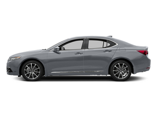 Slate Silver Metallic 2015 Acura TLX Pictures TLX Sedan 4D Advance V6 photos side view