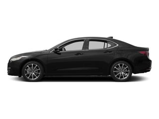Crystal Black Pearl 2015 Acura TLX Pictures TLX Sedan 4D V6 photos side view