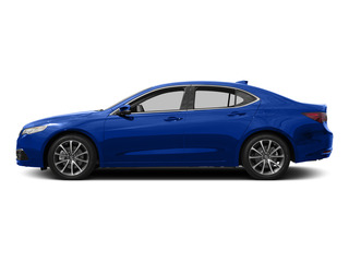 Fathom Blue Pearl 2015 Acura TLX Pictures TLX Sedan 4D V6 photos side view