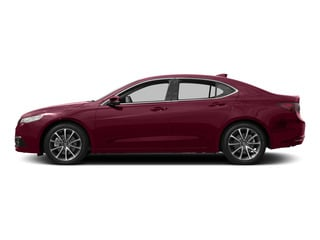 Basque Red Pearl II 2015 Acura TLX Pictures TLX Sedan 4D V6 photos side view