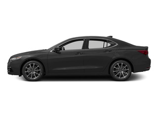 Graphite Luster Metallic 2015 Acura TLX Pictures TLX Sedan 4D Technology V6 photos side view