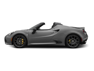 Basalt Gray Metallic 2015 Alfa Romeo 4C Pictures 4C Convertible 2D Spyder I4 Turbo photos side view