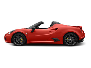 Rosso Alfa 2015 Alfa Romeo 4C Pictures 4C Convertible 2D Spyder I4 Turbo photos side view