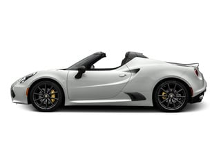 White 2015 Alfa Romeo 4C Pictures 4C Convertible 2D Spyder I4 Turbo photos side view
