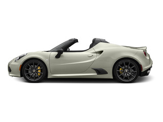 Madreperla White Tri-Coat 2015 Alfa Romeo 4C Pictures 4C Convertible 2D Spyder I4 Turbo photos side view