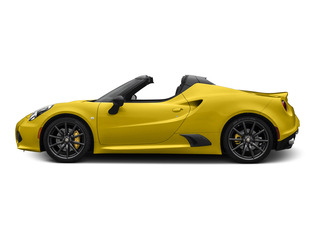 Giallo Prototipo 2015 Alfa Romeo 4C Pictures 4C Convertible 2D Spyder I4 Turbo photos side view
