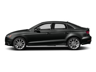 Mythos Black Metallic 2015 Audi A3 Pictures A3 Sedan 4D TDI Prestige 2WD I4 Turbo photos side view