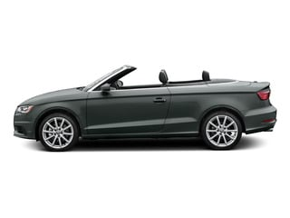 Monsoon Gray Metallic/Black Roof 2015 Audi A3 Pictures A3 Conv 2D 1.8T Premium 2WD I4 Turbo photos side view