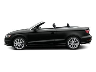 Mythos Black Metallic/Black Roof 2015 Audi A3 Pictures A3 Conv 2D 1.8T Premium Plus I4 Turbo photos side view