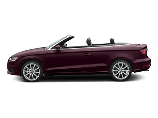 Shiraz Red Metallic/Black Roof 2015 Audi A3 Pictures A3 Conv 2D 1.8T Premium Plus I4 Turbo photos side view