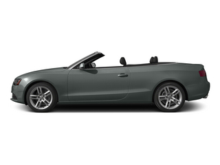 Monsoon Gray Metallic/Black Roof 2015 Audi A5 Pictures A5 Convertible 2D Premium Plus AWD photos side view