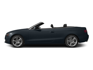Moonlight Blue Metallic/Black Roof 2015 Audi A5 Pictures A5 Convertible 2D Premium Plus AWD photos side view